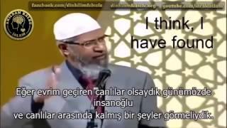 Evrim Teorisine bir de böyle bakın ''Dr.Zakir Naik''