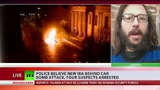 Police believe New IRA are behind car bomb attack