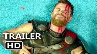 THOR RAGNAROK Blu Ray Trailer + BLOOPERS (2018) Deleted Scenes, Superhero Movie HD
