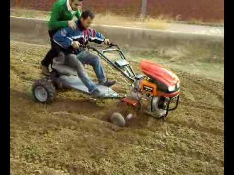 ecetrak tarım makinalari çapa motorunun testi