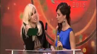Paola Krum: mejor actriz de comedia. Premios ACE