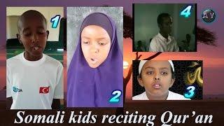 Amazing Somali kids Reciting Qur