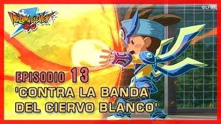 Inazuma Eleven Go Chrono Stones - Episodio 13 español «¡Contra la Banda Del Ciervo Blanco!»