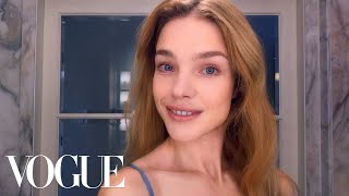 How Supermodel Natalia Vodianova Combats Jet-Lagged Skin | Beauty Secrets | Vogue