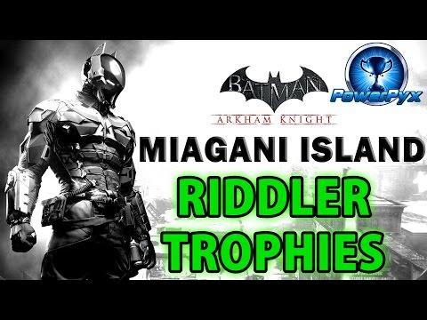 Xxx Mp4 Batman Arkham Knight Miagani Island All Riddler Trophy Locations 3gp Sex
