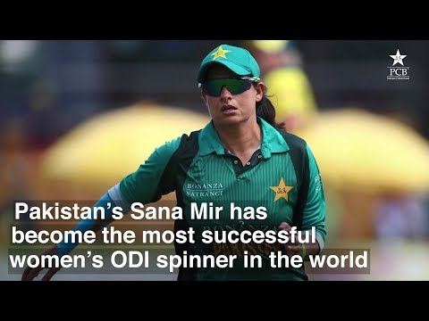 Xxx Mp4 Sana Mir From A Street Cricketer To The Most Successful Women 39 S ODI Spinner 3gp Sex