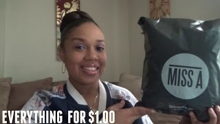 SHOP MISS A HAUL / EVERYTHING $1.00 STORE