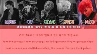 Big Bang - Bang Bang Bang [Hangul/Romanization/English] Color & Picture Coded HD