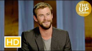 The Huntsman: Winter's War: Chris Hemsworth interview on Charlize Theron and female actresses