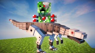 Minecraft CREEPER T-REX MOD