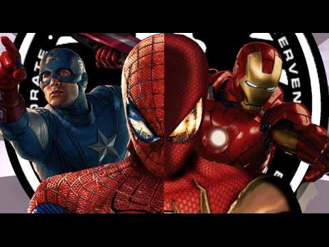 Marvel Ultimate Alliance 2 Full Movie All Cutscenes Cinematic
