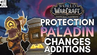 Protection Paladins First Look in the Battle for Azeroth Alpha - World of Warcraft
