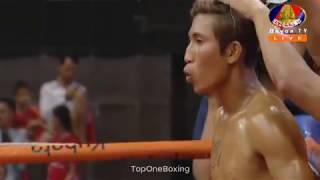 Khmer Boxing, ចេង គា ប៉ះ  វុត្ថា សេងហាក់ | Kun Khmer Boxing, BayonTV Boxing