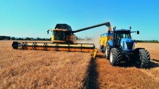 Colheita de milho 2013 com SUPER MÁQUINA