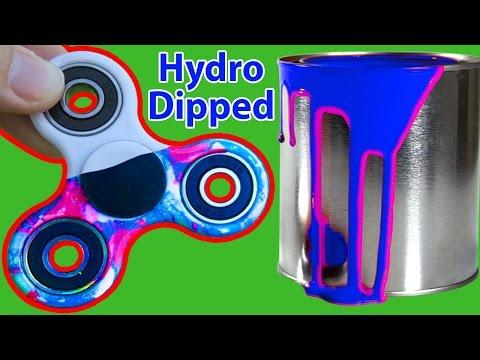 1000MPH FIDGET SPINNER HYDRO DIP