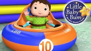 Ten Little Babies | Theme Park | Nursery Rhymes for Kids | Original Version By LittleBabyBum!