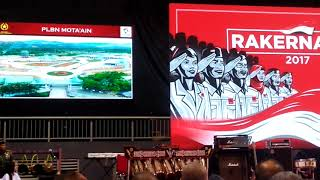 Pidato Presiden Jokowi Rakernas III PROJO