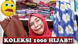 BONGKAR ISI LEMARI HIJAB RICIS - wow! koleksi 1000 hijab tapi yang dipake cuma satu?!