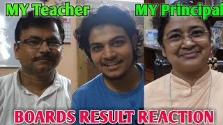 My Principal And School Teacher Reaction To My Result   Class 12 ISC Board Exam   Neon Man 360 Vlogs