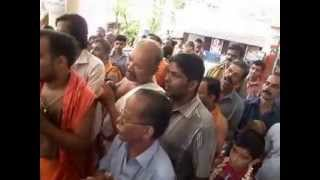 Nama Sankeerthana Pradakshina Seva @ Blakrishna Temple Kuzhuppilly