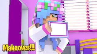 LITTLE KELLY GETS A MAKEOVER! | Minecraft Little Kelly