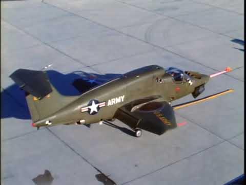 Rare Footage RYAN XV 5A Vertifan VTOL Test Flights Part 2