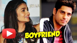 Alia Bhatt Reveals About Her Boyfriend - Watch Now!