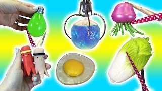 Cutting Open SQUISHY Toys! Claw Machine PRIZES Won! Doctor Squish