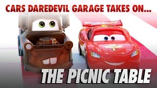 Disney Pixar Cars | The Die-cast Series Ep. 8 | Takes on the Picnic Table