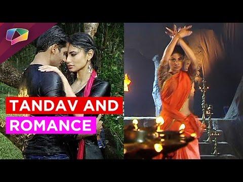 KaranVir and Mouni romance in Naagin 2