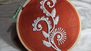 Hand Embroidery Designs | Bead embroidery | Stitch and Flower-124