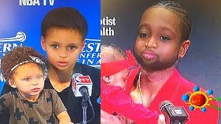 Baby NBA Players With Their Kids! Stephen Curry, LeBron, Dwyane Wade, Derrick Rose, & Chris Paul