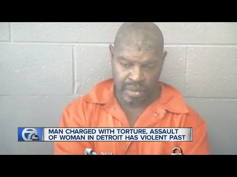Man charged in torture, rape had horrifying history