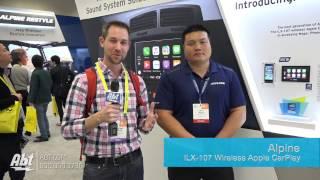 CES 2017 - Alpine Wireless Apple CarPlay [iLX-107]