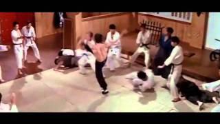 Bruce Lee Vs Japanese School Fighting Scene
