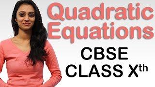 Quadratic Equations Ex 4.4 Q - 1, NCERT Solutions Class 10th  Maths