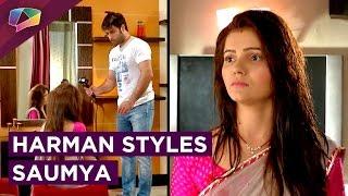 Harman and Saumya's Cute Moment | Shakti | Colors Tv