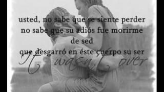 usted  no sabe - Alexandre Pires- Letra (lyrics)