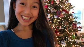 SUPER LATE Christmas EVE GRWM |Caitie Kim