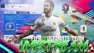 FIFA 19 JETZT INVESTIEREN !!!  TRADING Tipps + Chillen 🔥 UVW. LIVE 🔥🔥🔥 ALEX 96 FIFA 19 (DEUTSCH)