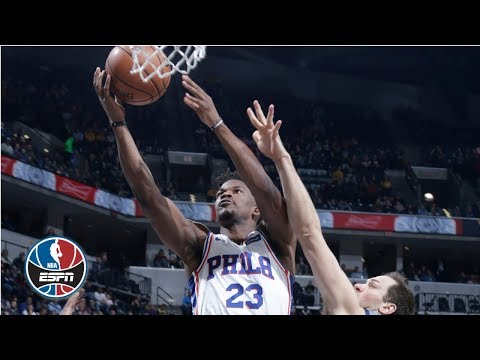 Xxx Mp4 Jimmy Butler S 27 Point Night Leads The 76ers Past The Pacers NBA Highlights 3gp Sex