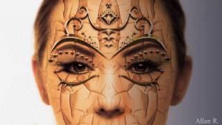 Girl Mask (Scarlett) Photoshop Timelapse