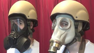 British MK7 Helmet/Respirator Comparability tests