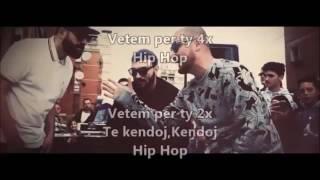 MC Kresha & Lyrical Son Feat  Ledri Vula  -  Hip Hop  Me tekst (Lyrics) 2016