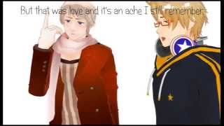 【APヘタリアMMD】Somebody I used to know by Pantatonix [ Russia & America ]