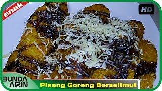 Resep Pisang Goreng Berselimut - Jajanan Khas Indonesia Enak Recipes Indonesia Bunda Airin