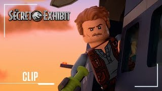 LEGO Jurassic World: The Secret Exhibit | Clip: Pterodactyl Helicopter Chase | Jurassic World