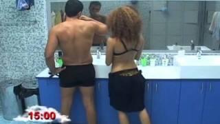 Alpha Big Brother 2010 - H Stella Genise!!! / O Hlias Peirazei tin Elina :P / Kamaki!