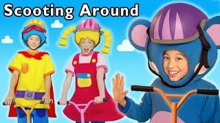 Scooting Around and More | Fun Day Out | Baby Songs from Mother Goose Club!
