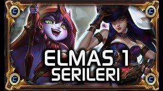 BUFFLANMIŞ CAİTLYN-- ELMAS 1 SERİLERİ